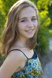 Portret szesnastoletnia dziewczyna Obraz Royalty Free