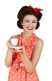Portret szpilka stylu kobieta Zdjęcie Royalty Free