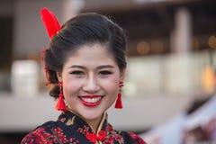 Portret Tajlandzka dziewczyna bangkok Thailand Zdjęcia Stock