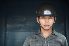 Portret Tajlandzki wojsko żołnierz Bangkok Tajlandia Obraz Stock