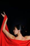 portret tancerkę. Zdjęcia Stock