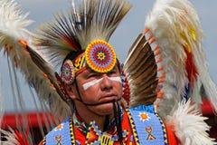 Portret tancerz 49th roczny Zlany plemienia Pow no! no! fotografia royalty free