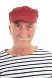 Portret teruggetrokken mens Royalty-vrije Stock Afbeeldingen
