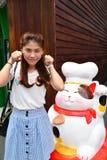 Portret Thais Meisje Stock Foto