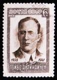 portret Toivo Antikainen - Fiński polityk około 1968, obraz royalty free