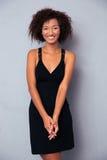 Portret Uśmiechnięta Afrykańska kobieta fotografia stock
