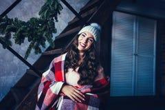 Portret uśmiechnięta kobieta zdjęcie stock