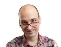 Portret uśmiechnięty mężczyzna obrazy royalty free