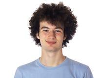 Portret uśmiechnięty młody człowiek. Zdjęcie Royalty Free