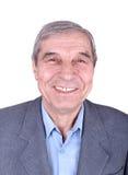 Portret uśmiechnięty starszy mężczyzna ja Zdjęcia Stock