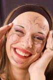 portret uśmiech Obraz Royalty Free