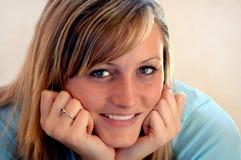 portret uśmiecha nastolatków. Obraz Royalty Free