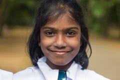 Portret uczeń od dziewczyny szkoły średniej Zdjęcia Stock