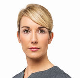 Portret Ufny bizneswoman Fotografia Stock