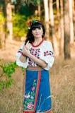 Portret ukraińska kobieta Zdjęcie Royalty Free