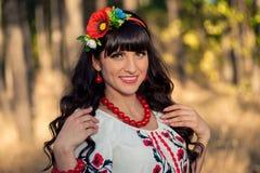 Portret ukraińska kobieta Obraz Stock