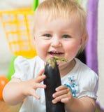 Portret uroczy dziecko Fotografia Royalty Free