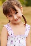Portret van aanbiddelijk meisje royalty-vrije stock foto's