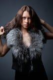 Portret van aantrekkelijk jong model royalty-vrije stock fotografie
