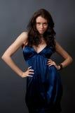 Portret van aantrekkelijk model stock fotografie