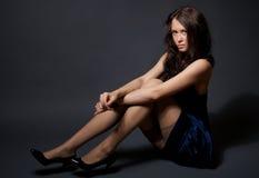 Portret van aantrekkelijk model royalty-vrije stock foto's