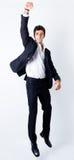 Portret van aantrekkelijke zakenman stock afbeelding