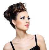 Portret van aantrekkingskrachtvrouw Royalty-vrije Stock Foto's