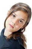 Portret van aardig meisje Stock Foto's