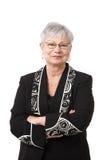 Portret van actieve hogere vrouw Stock Fotografie