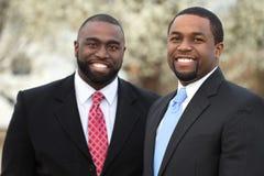 Portret van Afrikaanse Amerikaanse zakenlieden Stock Afbeeldingen