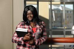 Portret van Afrikaanse Student stock afbeeldingen