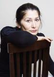 Portret van Aziatische vrouw Stock Fotografie