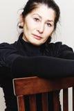 Portret van Aziatische vrouw Royalty-vrije Stock Foto