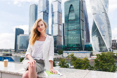 Portret van bedrijfsvrouw Royalty-vrije Stock Fotografie