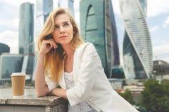 Portret van bedrijfsvrouw Royalty-vrije Stock Afbeeldingen