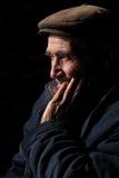 portret van bejaarde Royalty-vrije Stock Fotografie