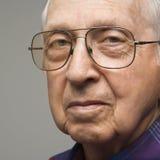 Portret van bejaarde. Royalty-vrije Stock Foto's