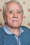 Portret van bejaarde Royalty-vrije Stock Afbeeldingen