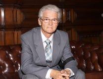 Portret van bejaarde Stock Foto's