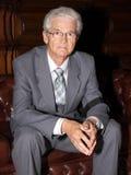 Portret van bejaarde Stock Fotografie