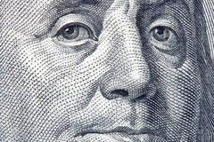 Portret van Benjamin Franklin Stock Fotografie