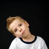 Portret van blij weinig jongen Stock Fotografie