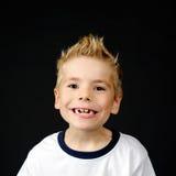 Portret van blij weinig jongen Royalty-vrije Stock Fotografie