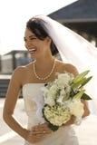 Portret van bruid. Royalty-vrije Stock Afbeeldingen