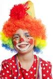 Portret van clown royalty-vrije stock afbeeldingen