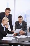 Portret van commercieel team Royalty-vrije Stock Foto