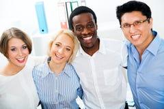 Portret van commercieel team Stock Afbeeldingen