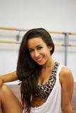 Portret van dansersmeisje Royalty-vrije Stock Afbeelding