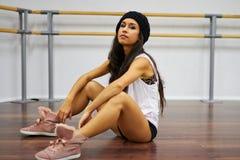 Portret van dansersmeisje Stock Fotografie