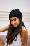 Portret van dansersmeisje Stock Foto